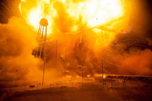 NASA Releases Stunning New Images Of 2014 Antares Rocket Disaster