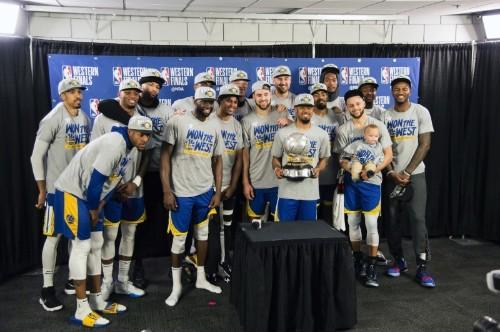 Warriors installed as Finals favorite over TBD Bucks-Raptors winner