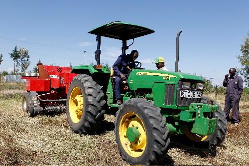 Deere taps tractor-hailing tech in bid to break ground in Africa