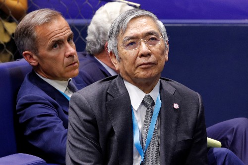 Kuroda says BOJ will debate policy this month on view economy on growth path