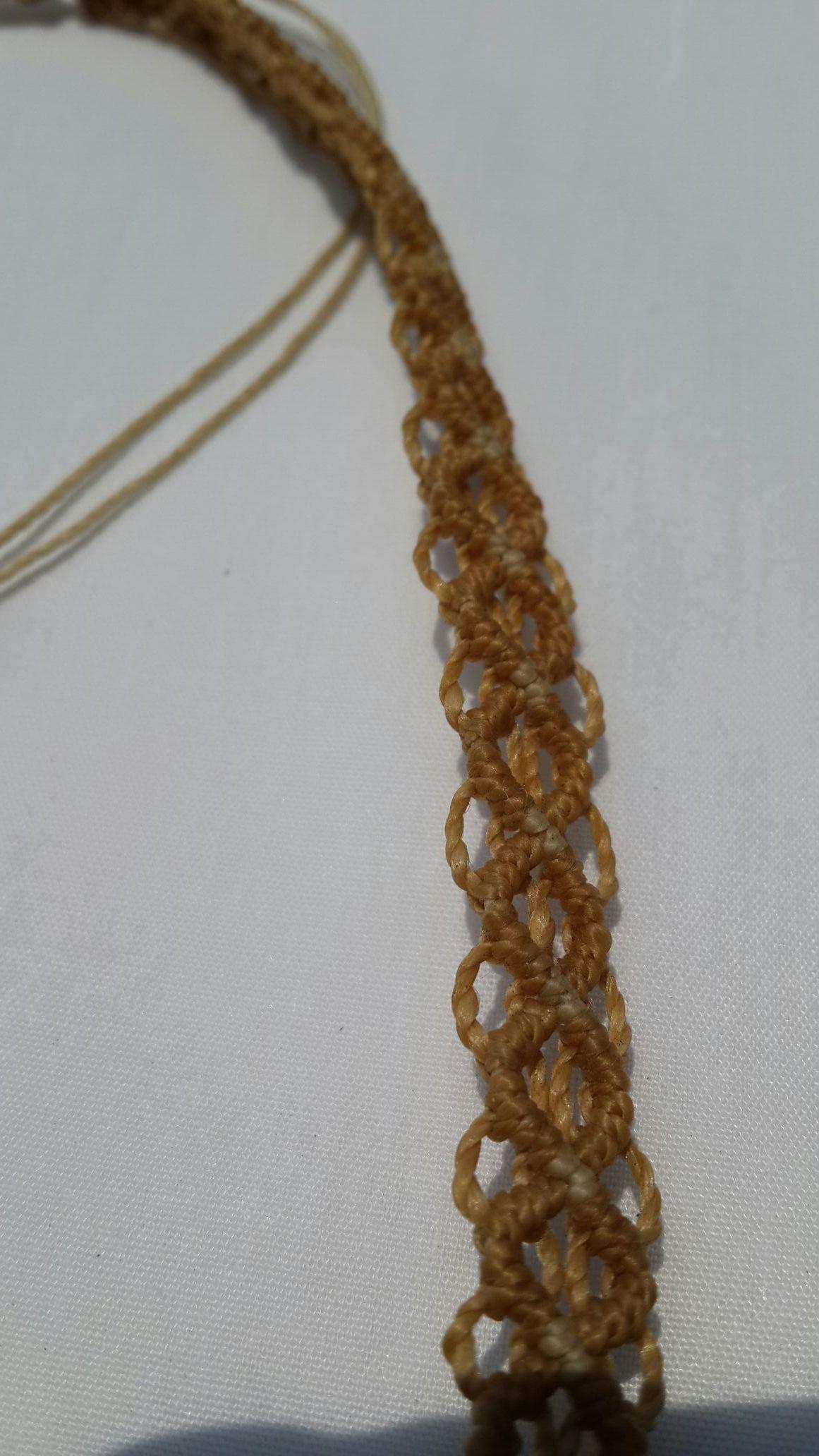 Tejido del Collar cascada