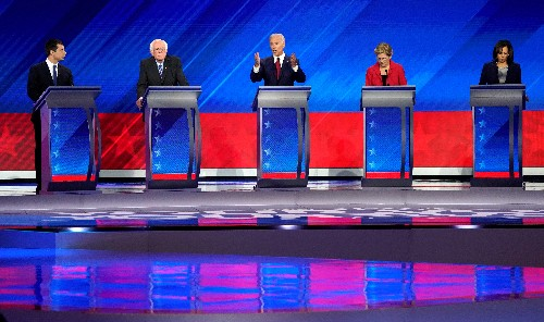 Democrats announce tighter criteria for fifth presidential debate