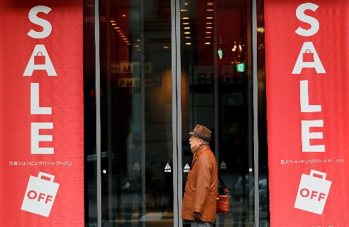 Weak spending overshadows Japan's surprise first quarter economic expansion