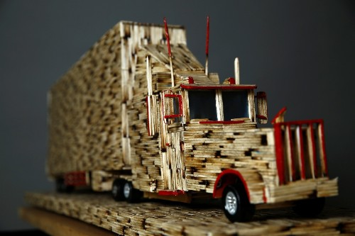 The Art of Matchsticks in Pictures
