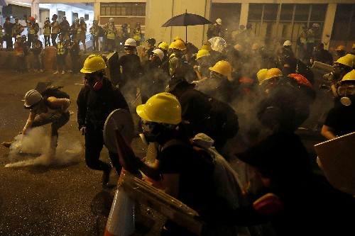Hong Kong protesters violated 'One Country, Two Systems' bottom line - Foreign Ministry