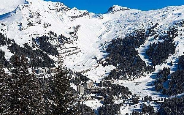 British boy, 7, dies on family skiing holiday in French Alps after getting lost on the piste