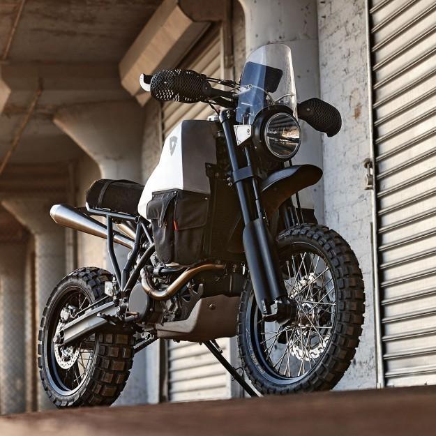 Two-wheel drive beast: The REV'IT! #95
