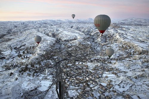 Hot Air Ballooning in Turkey: Pictures