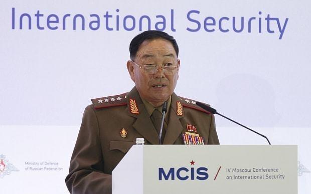 North Korea 'executes defence chief' using anti-aircraft guns