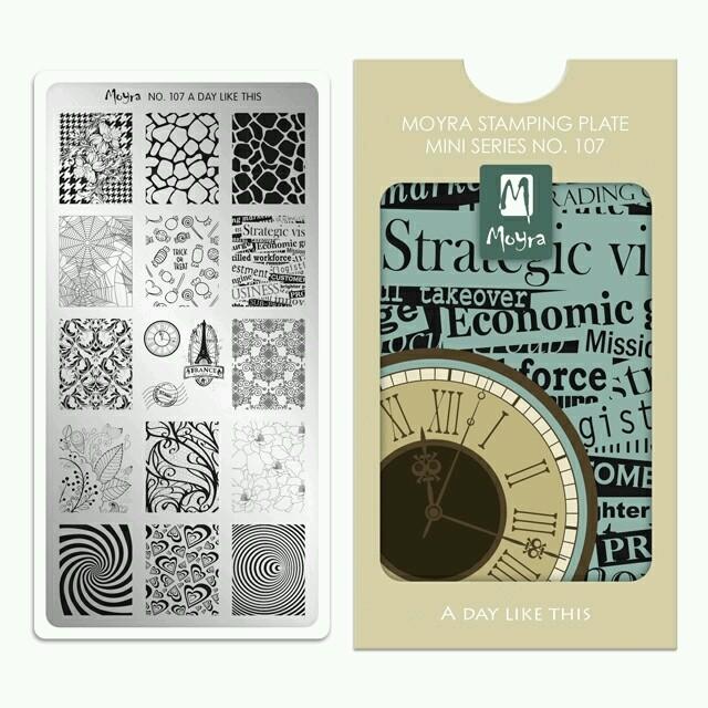Moyra Mini Stamping - Magazine cover