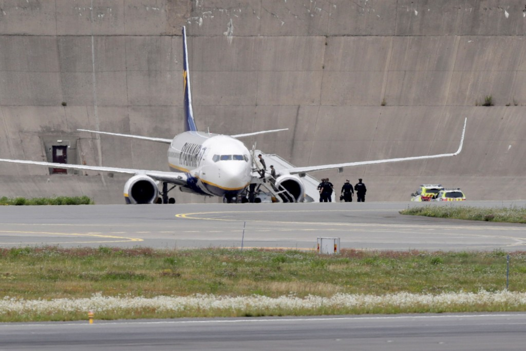 Ryanair plane lands safely in Oslo after bomb threat, no explosives found