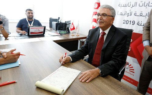 Tunisian defence minister Zbidi submits bid to run for president