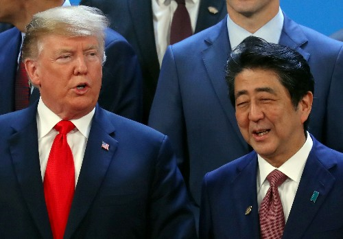 Japanese PM Abe may meet Trump in April: officials, media