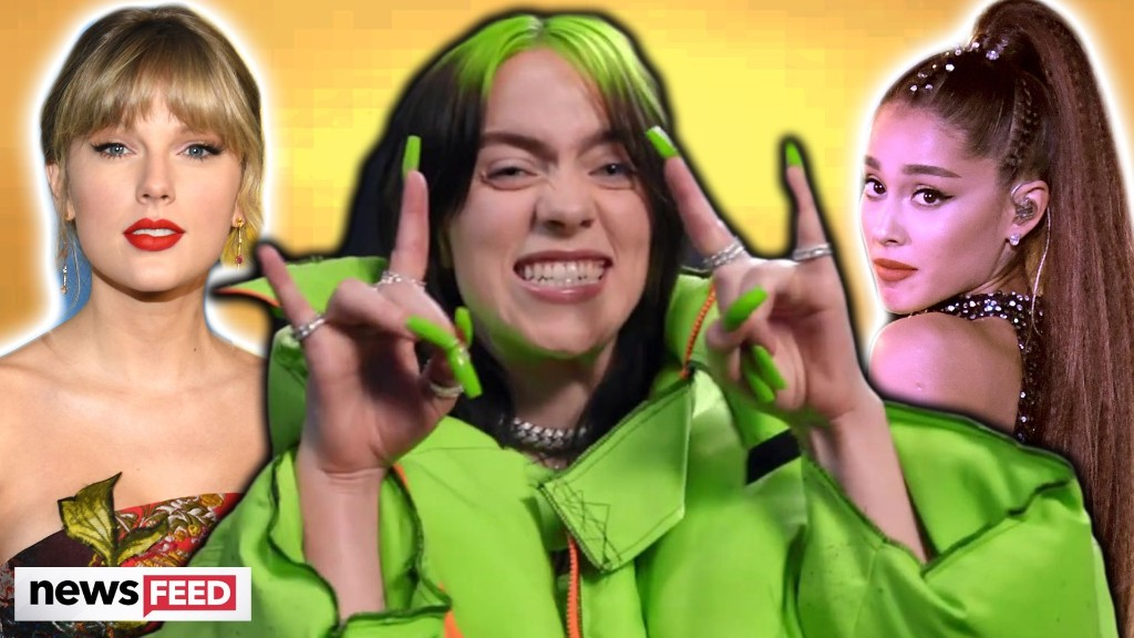 Billie Eilish BEATS Taylor Swift & Ariana Grande For Most Streamed Female Artist!
