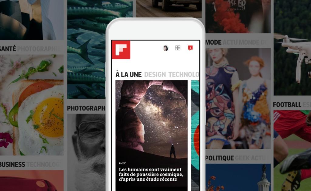 La nouvelle édition de Flipboard s'organise autour de vos centres d'intérêt - French Flipboard