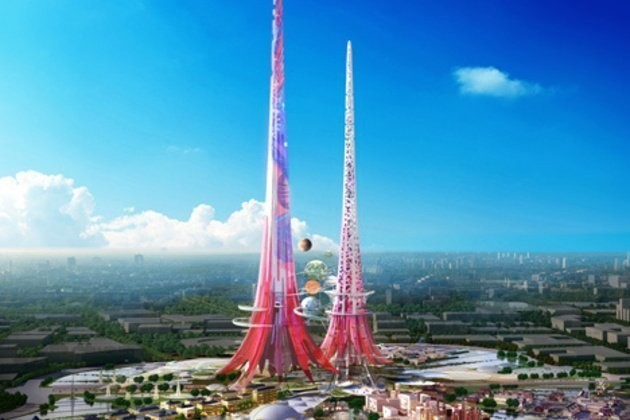 China's Plan For The Tallest Building Ever Is Going To Save The World