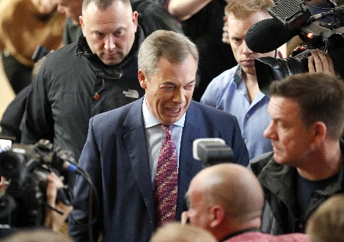 Brexit Party shifts tactics, won't challenge Tories in vote