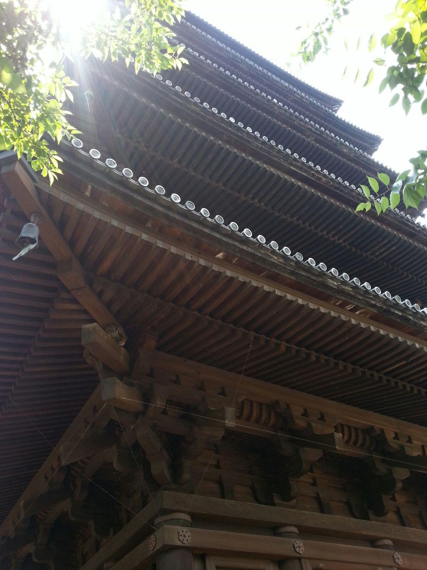 Summer in Kyoto - Touji Pagoda.