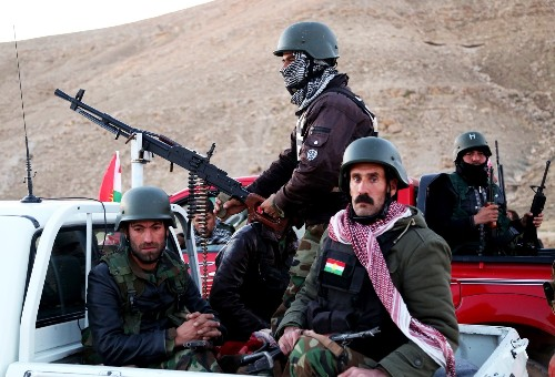 US, Kurds Attack ISIS Stronghold in Sinjar: Pictures