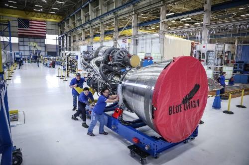 Jeff Bezos will sell Amazon stock every year to fund Blue Origin