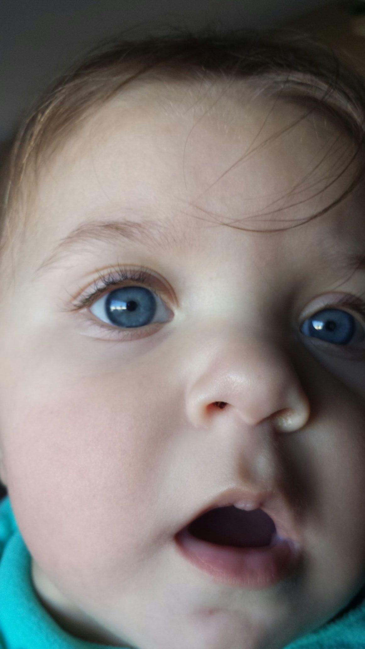 Ocean blue eyes