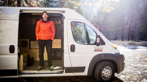 Inside Alex Honnold's Tricked-Out New Adventure Van