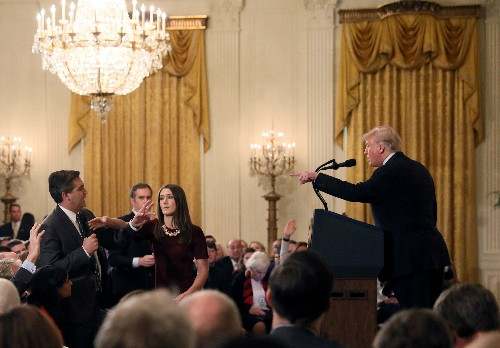 CNN verklagt US-Präsidialamt im Streit über ausgesperrten Reporter
