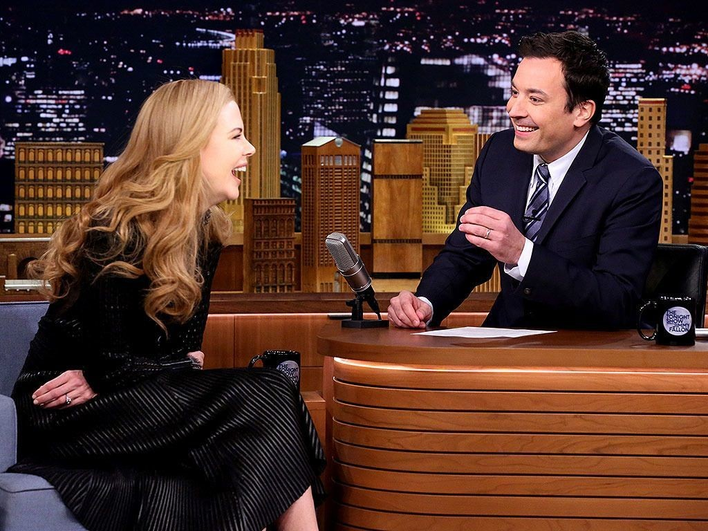 Nicole Kidman Still Laughing Over Botched Date Story with Jimmy Fallon