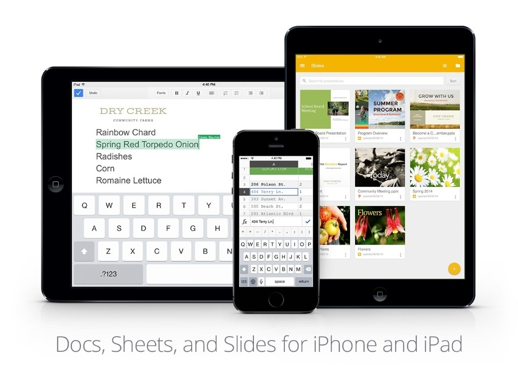 Google Releases Slides iOS App with Microsoft Office Editing