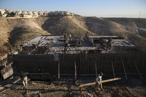 Israel approves Palestinian construction in West Bank
