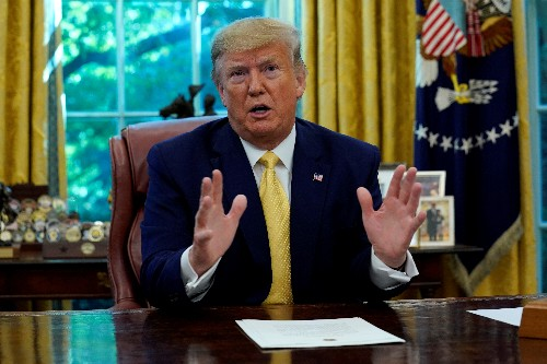 Trump urges quicker action to allow imported drugs from Canada
