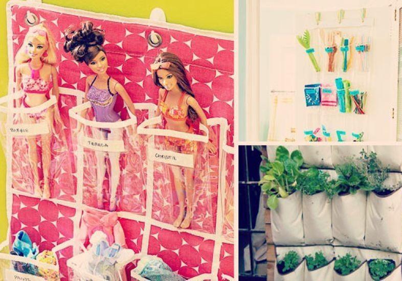 18 jeitos criativos de organizar a casa com sapateiras