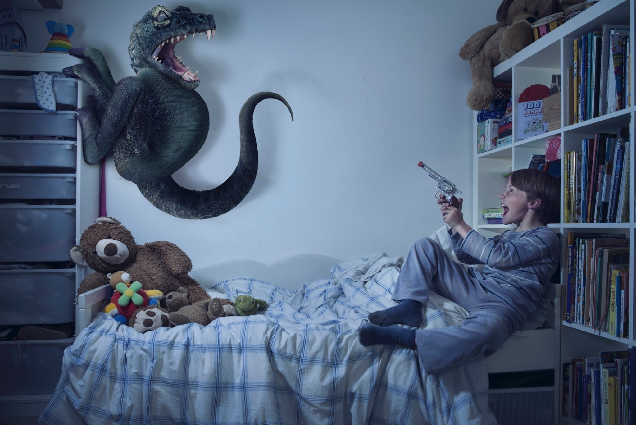Kids battle the monsters of their nightmares - in pictures