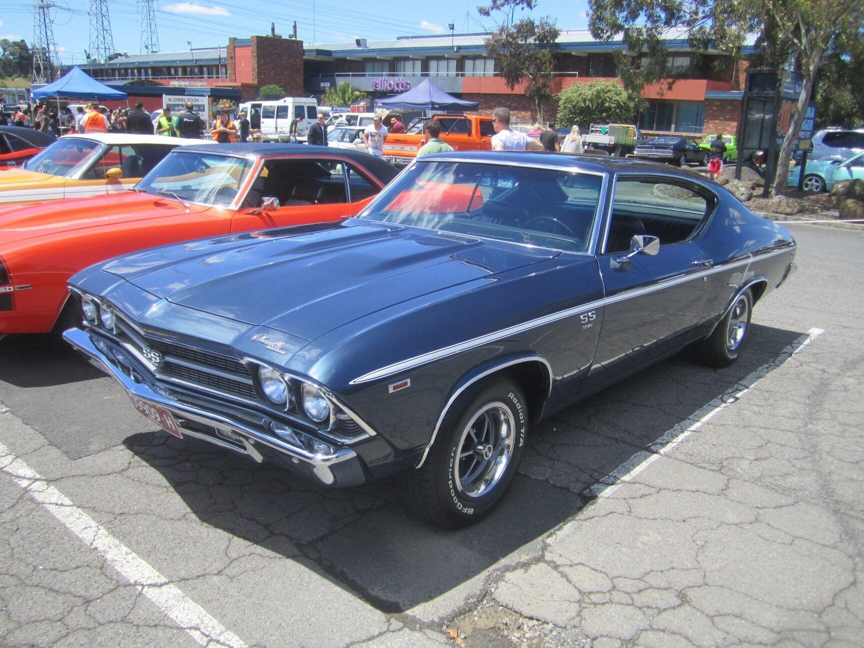 Chevrolet chevelle ss396 4speed 1969