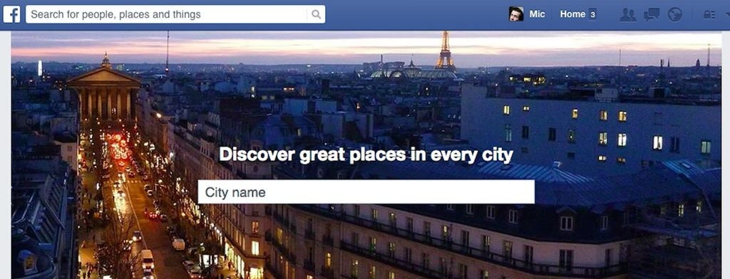 Facebook Launches New Places Directory To Rival Yelp
