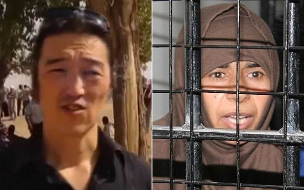 Father of Japanese Isil hostage reported killed holds out hope