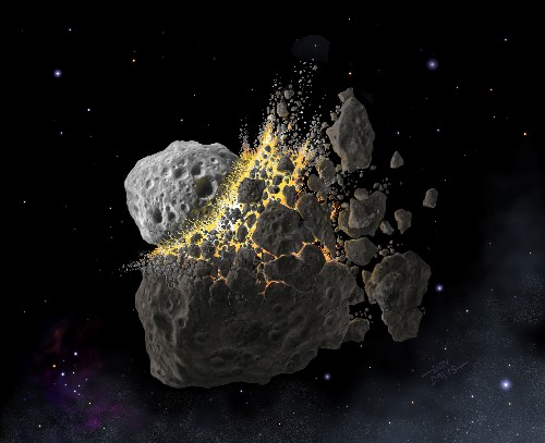 Calamidade causada por asteróide moldou vida na Terra há 466 milhões de anos, dizem cientistas