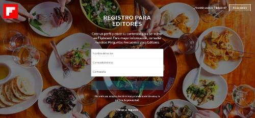Nueva plataforma internacional autoservicio de Flipboard para editores