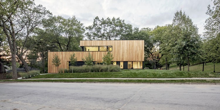 Articles about minimalist home negotiates tricky site saint paul on Dwell.com - Dwell