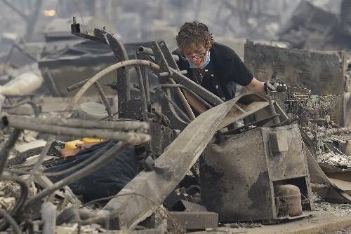 Fires Tear Through Napa Valley in California: Pictures
