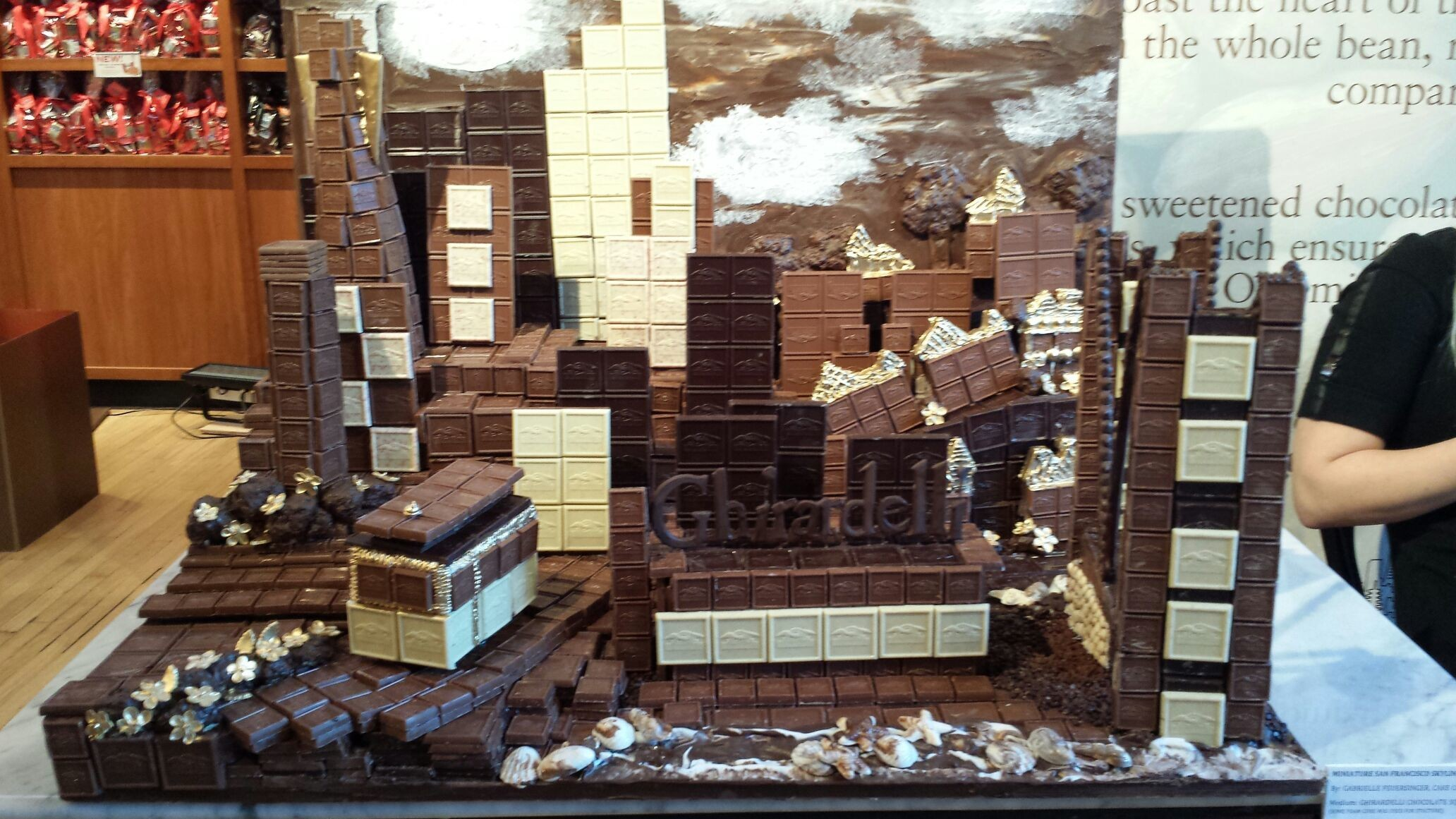 Imagine if SF was made out of chocolate