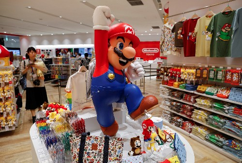 Mario Shopping Kart: Nintendo unveils Tokyo store to lure casual gamers