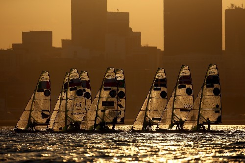 Sailing Test Event in Rio: Pictures
