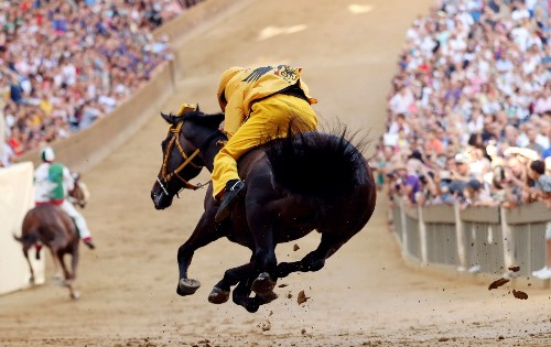 The Palio di Siena in Pictures