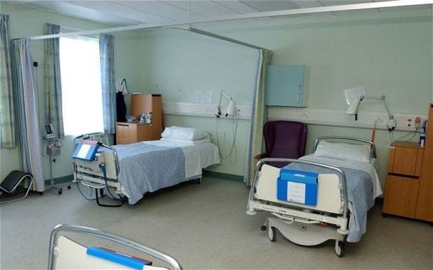 Number of patients waiting on trolleys in A&E triples