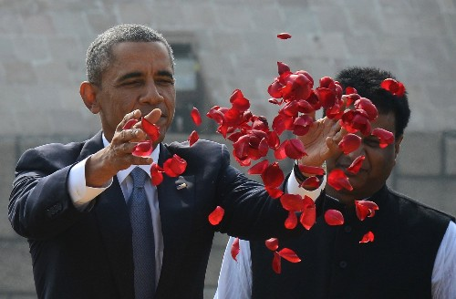 Obama Visits India: In Pictures
