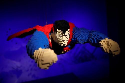 Super Heroes in Legos: Pictures