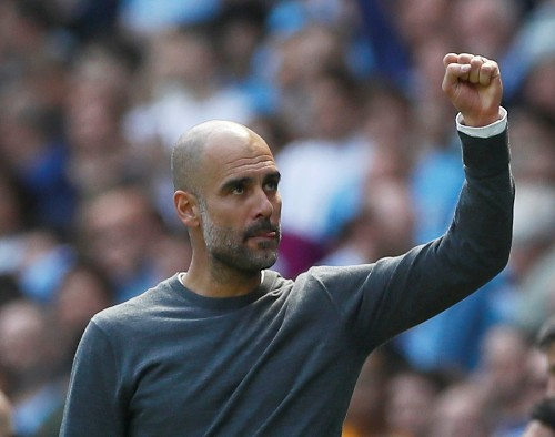 Soccer: Guardiola shrugs off Solskjaer's 'foul' claims before derby
