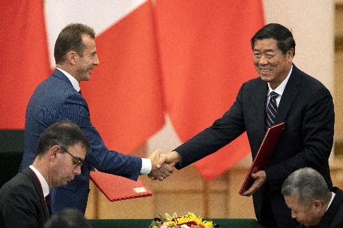 Europeans look to China as global partner, shun Trump's US
