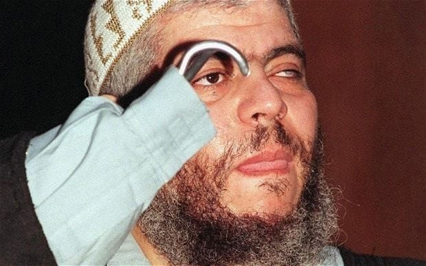 Abu Hamza faces spending the rest of his life in prison